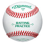 One-Dozen Batting Practice Baseballs